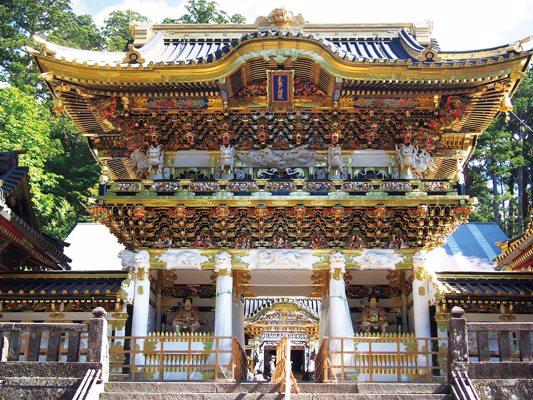Porte Yomeimon du sanctuaire Nikkô Tôshôgû