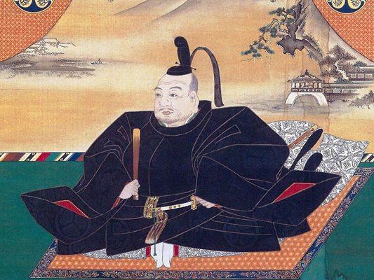 Tokugawa Ieyasu dont le sanctuaire est le mausolée