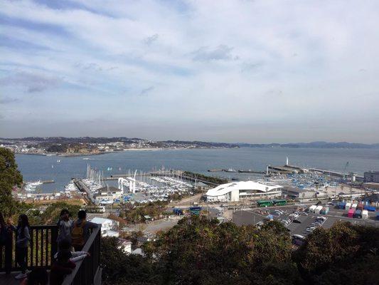 Vue du port d'Enoshima