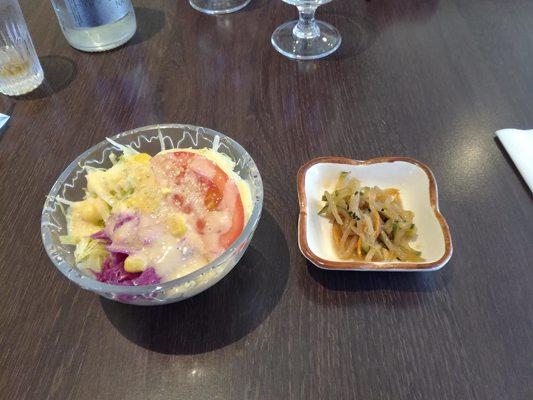 Salade d'entrée