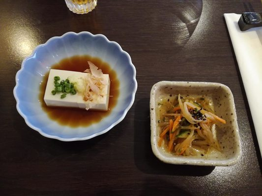 Tofu frais d'entée